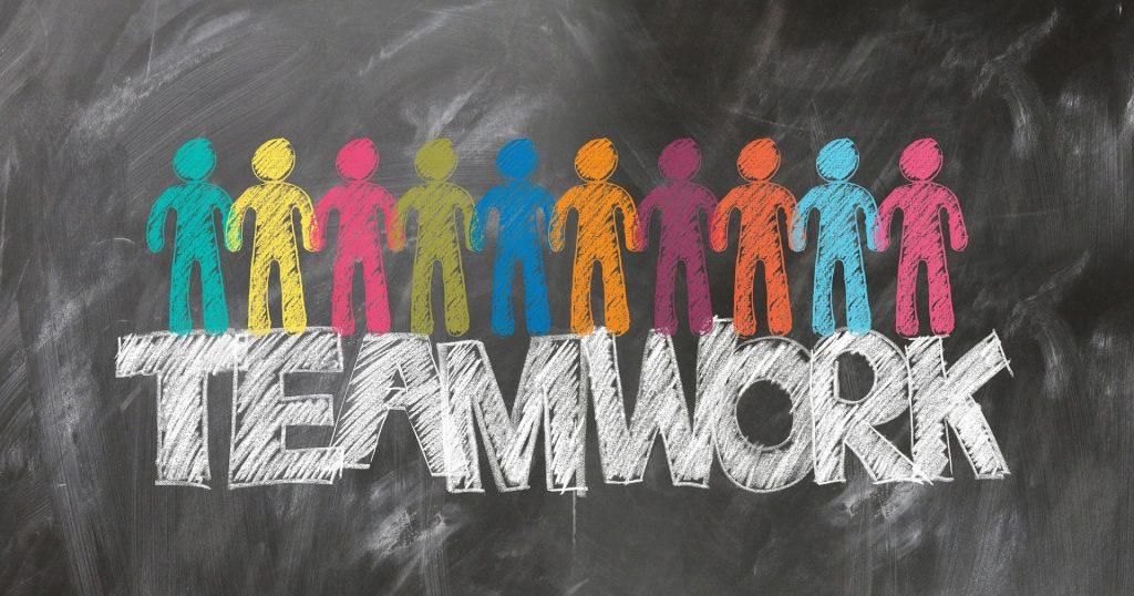 I Dansk Vandrelaug arbejder vi sammen i et stærkt forgrenet teamwork