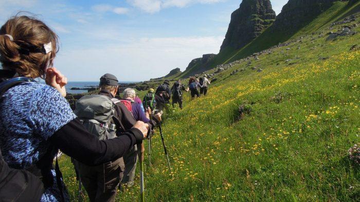 Her er vi på Island ved Westfjord. Foto Rie Lambæk Mikkelsen.
