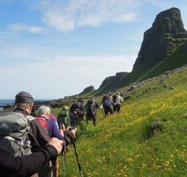 Vandreferie på Island ved Westfjord. Foto Rie Lambæk Mikkelsen.