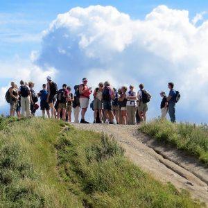 Som medlem af Dansk Vandrelaug kan du bl.a. nyde udsigten i Mols Bjerge. Foto Preben Simonsen