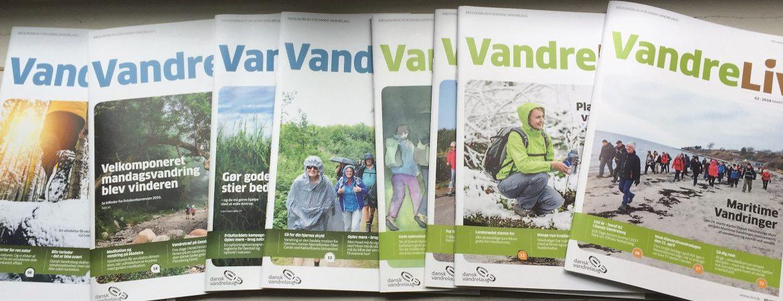 Dansk Vandrelaugs medlemsblad VandreLiv