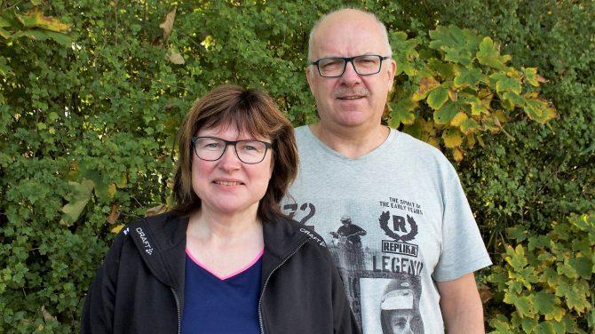 Jette og Svend-Erik Hansen går godt sammen