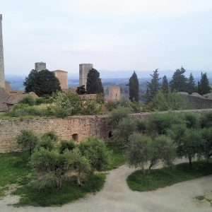 San Gimignano i Toscana. Foto Kirsten Brandt.