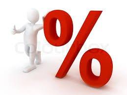 Den lille mand og procenttegnet