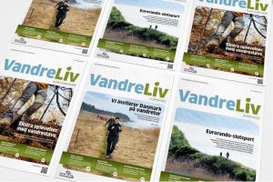 Som medlem af DVL modtager du VandreLiv 6 gange om året