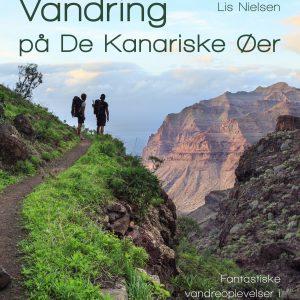 Forsiden af Lis Nielsens bog, Vandring på De Kanariske Øer
