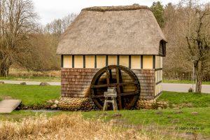 En gammel vandmølle. Foto Hugo Mejer Hansen.