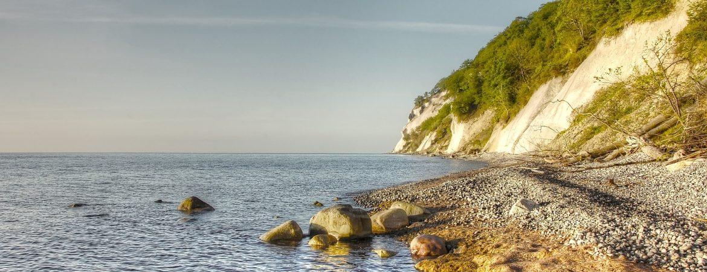 Møns Klint - en blandt mange vandrestier i Region Sjælland. Foto Pixabay