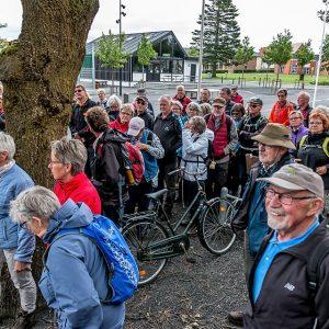 Herning Afdeling samlet forud for en god vandretur. Foto Hugo Meier Hansen.