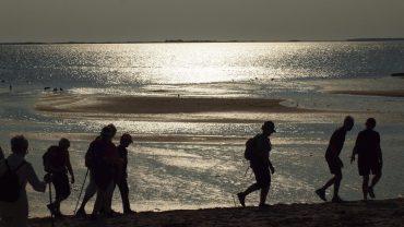 En aftentur ved Sædding Strand kan være god hjernegymnastik. Foto Jens Andreas Pedersen