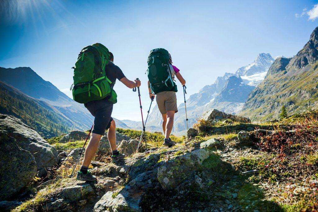 Få det bedste ud af din vandretur med en rygsæk, der passer i både størrelse og pasform. Foto: Osprey