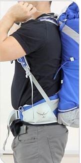 Det er ikke kun vigtigt at finde den rigtige længde på rygsækken. Korrekt indstilling af bælter og stropper gør turen meget mere behagelig – især med tung oppakning. Foto: Osprey