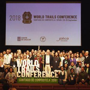 Alle deltagerne ved Word Trails Conference 2018. Foto Lis Nielsen