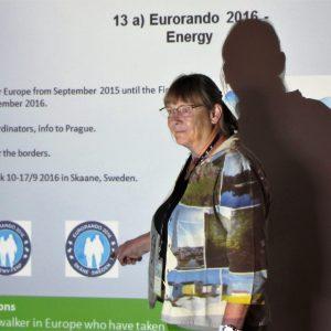 Lis Nielsen ved Eurorando 2016