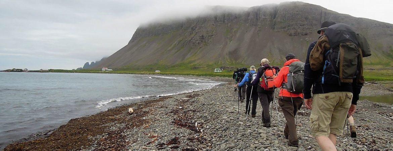 Island Westfjord gråvejr. Foto Rie Lambæk Mikkelsen