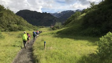 På DVL-vandreferier på Island i 2018. Foto Rie Lambæk Mikkelsen