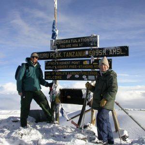 Kilimanjaro. Foto Kim Greiner