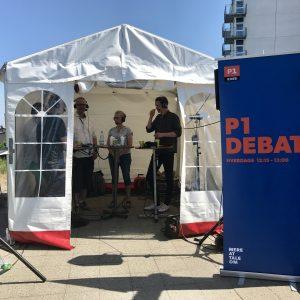 P1 Debat. Foto Naturmødet