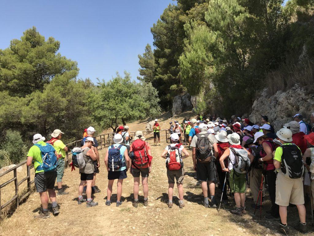 DVL-vandreferier er også gået til Sicilien som her i 2018. Foto Rie Lambæk Mikkelsen