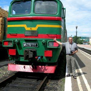 kal med toget 2.24 Moskvatid 7.24 lokaltid Foto Kim Greiner