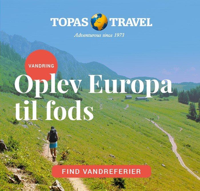 TOPAS reklame Europa