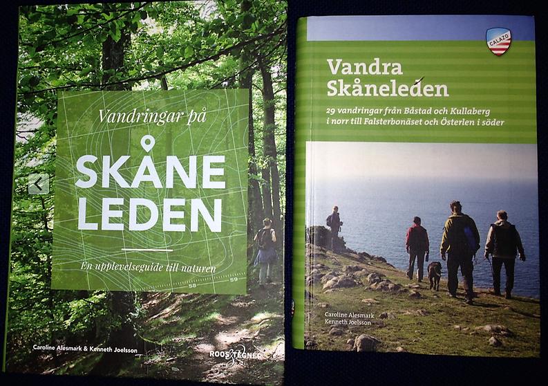 Bøger om Skåneleden