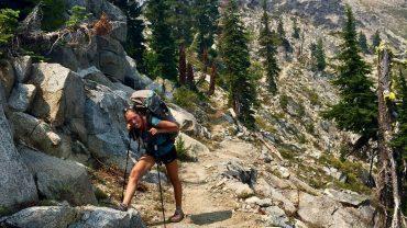 Gitte Holtze kommer vidt omkring på sin lange rejse på Pacific Crest Trail. Foto privat.