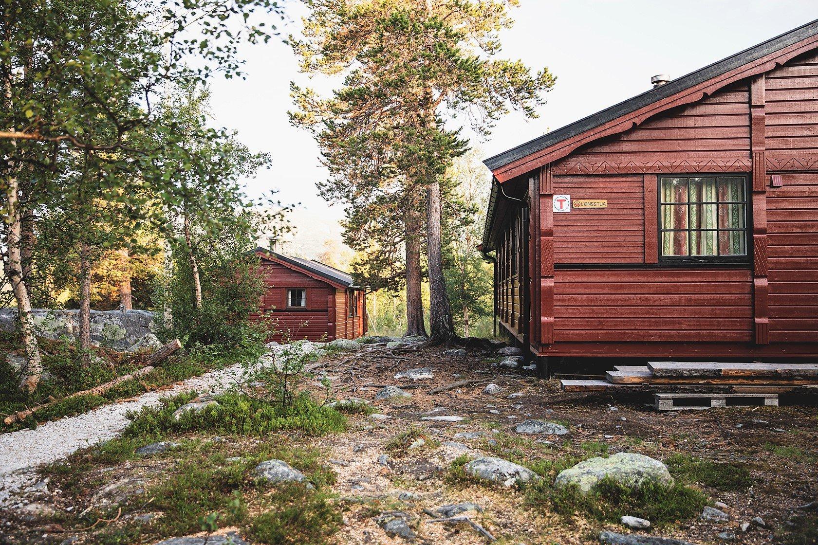 Et eksempel på en såkaldt ubetjent hytte. Foto Line Hårklau/DNT.