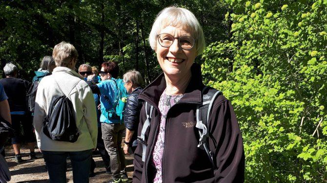 Kirsten Lindbæk Knudsen nyder sit aktive liv i Horsens Afdeling - nu også som formand.