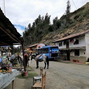 På bytur i Peru. Foto Kirsten Brandt.
