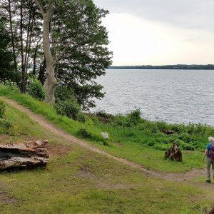 Esrum Sø ved Gribskov. Foto