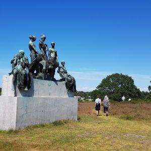 Statuepark. Marianne Bach.