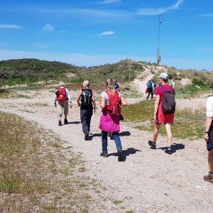 På vej mod Tisvillde. Foto Marianne Bach