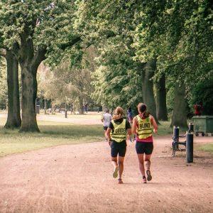 En fælles løbetur i Fælledparken. Foto Move United