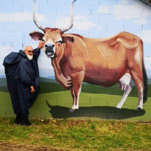 Hans Henrik Kleinert forsøger at tage tyren ved hornene. Foto Ingelise Kvorning.