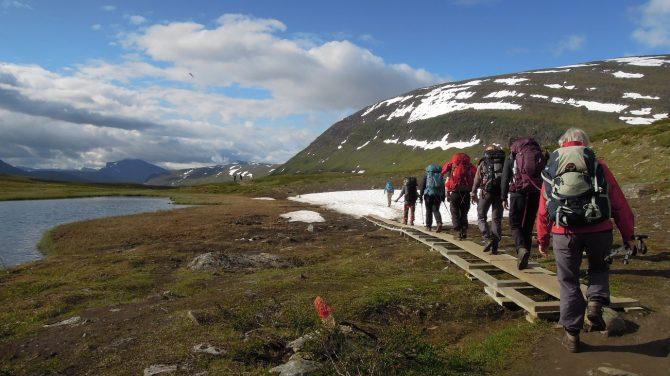 Kungsleden 2019. Foto Rie Lambeck Mikkelsen