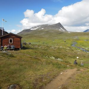 På Kungsleden 2019. Foto Rie Lambeck Mikkelsen