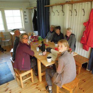Velfortjent kaffepause. Foto Rie Lambeck Mikkelsen