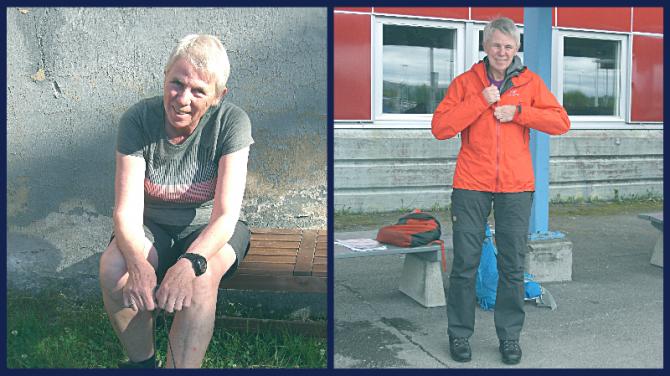 Portræt af Grethe Aagaard taget på vandreferier. Foto privat