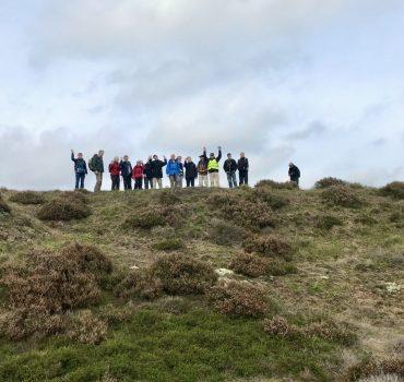 """På toppen af """"Klimperne""""med DVL Foto Merete Christensen"""