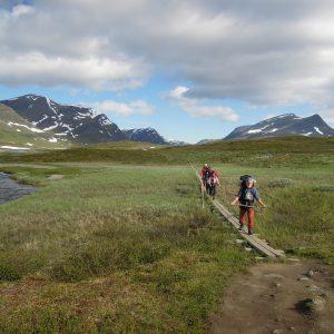 Kungsleden i Lapland sommeren 2019. Foto Rie Lambæk Mikkelsen