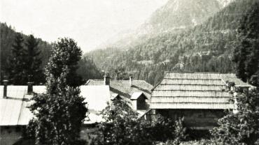 Bjergtur til Triglav i Slovenien anno 1969