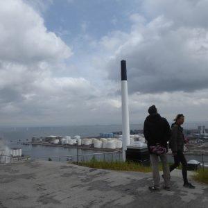 Der var skam også lidt blå himmel i løbet af fødselsdagen. Foto Anita Garbers
