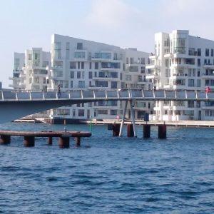 Københavns Havnefront, Refshaleøen og Christiania -vandreture i København og hovedstadsområdet