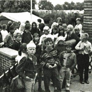 Sure miner ved afskeden. Foto DVL arkiv
