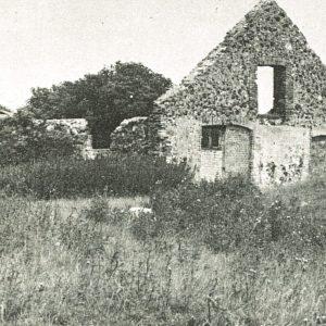 Ruin på Saltholm. Foto Poul Stauning