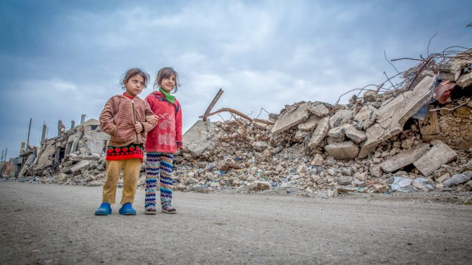 Danmarksindsamling ©UNICEF Anmar Mosul Libanon