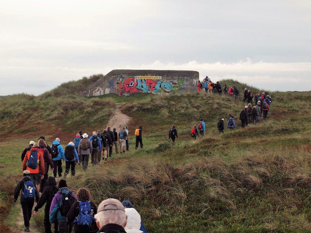 På tur ved Nymindegab. Foto Jens Andreas Pedersen