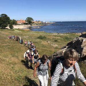 Op ad bakke. Foto Rie Lambæk Mikkelsen
