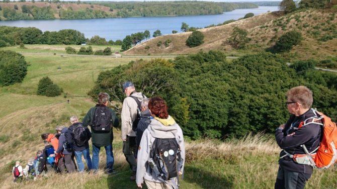 Stanghede og Hald Sø 71 m (med sø). Foto Ove Jakobsen